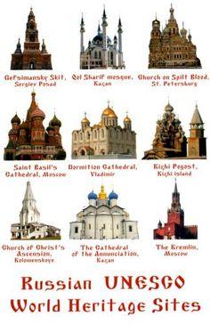 UNESCO World Heritage Sites in RUSSIA