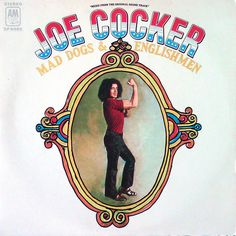 """As with so many artists, I'm not a fan of """"late"""" Joe Cocker things. The whole """"You Are So Beautiful"""" thing is lost on me. But this album is a classic. It's rockin' and it's PURE Joe Cocker. Rock Album Covers, Classic Album Covers, Music Album Covers, Music Albums, Music Music, Music Stuff, Book Covers, Joe Cocker, Leon Russell"""