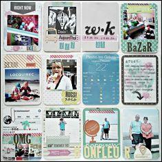 lescrapananat: Project life !!!! week 26,27,28,29,30,31,32,33,34,35,36 ,37 !! (rien que ça !!)