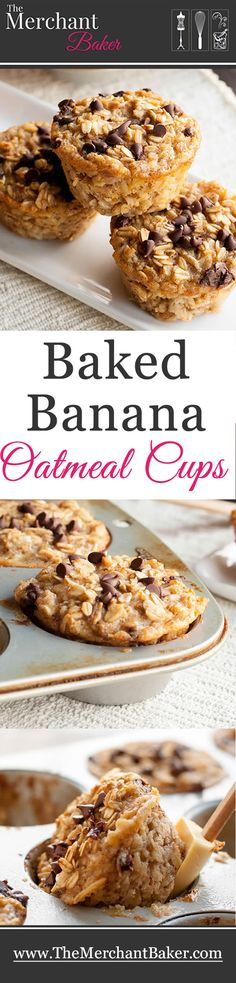 Baked Banana Oatmeal Cups I used 1/2 cup brown sugar
