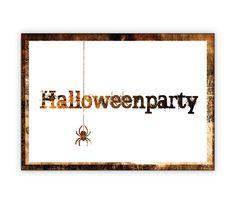 Einladungskarte zu Halloween mit Spinne: Halloweenparty - http://www.1agrusskarten.de/shop/einladungskarte-zu-halloween-mit-spinne-halloweenparty/    00023_0_2527, Einladung, Feiern, Fest Einladen, Gäste Halloween, Gruseln, Grusskarte, Klappkarte Party00023_0_2527, Einladung, Feiern, Fest Einladen, Gäste Halloween, Gruseln, Grusskarte, Klappkarte Party