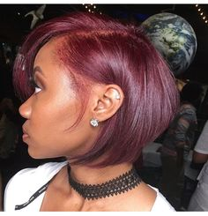 Sometimes I want to cut my hair like this and other times I want a head full of hair and curls.