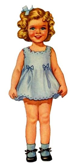 Baby Mine (Marjorie) by Merrill Vintage Girls, Vintage Children, Vintage Pictures, Vintage Images, Doll Toys, Baby Dolls, Girl Dolls, Paper Toys, Paper Crafts