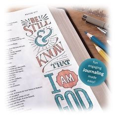 Bible Journaling Kit, 10 Components, Foundation
