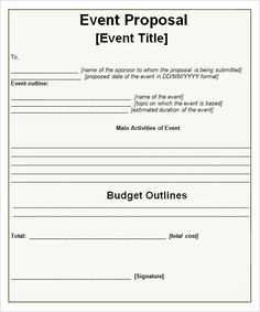 Event Proposal Samples New Sumaila Aziz Sumailaaziz On Pinterest