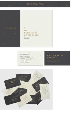 MR & RP - Valeria Moreiro wine branding stationary corporate identity business card letterhead enveloppe eraser minimal graphic design pattern logo gold