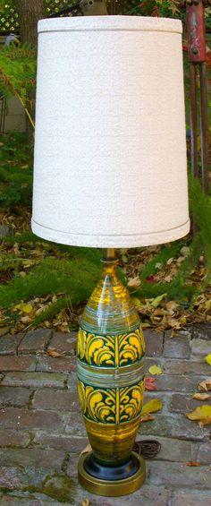 Mod 60's 70's lamp.