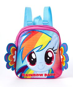 Look at this My Little Pony Rainbow Dash Mini Backpack on #zulily today!