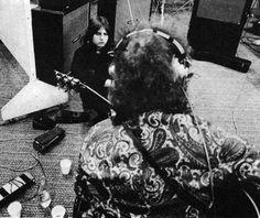 Greg Lake and Robert Fripp, 1969 (King Crimson)