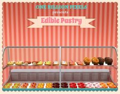 One Billion Pixels: Edible Pastry