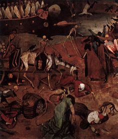 The Triumph of Death (detail), Pieter Brueghel the Elder, c. 1562