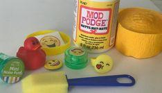 emoji surprise ball DIY