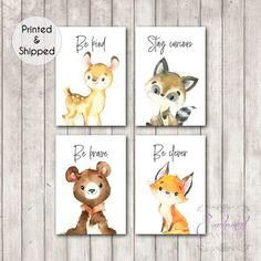 Woodland Animal Quote Nursery Prints Set of Woodland Animal Quote Prints, Gender Neutral Nursery Decor, Woodland Forest Theme Nursery Art Woodland Animal Quote Nursery Prints Set of 8 Woodland. Nursery Decor Boy, Nursery Neutral, Nursery Themes, Nursery Prints, Nursery Wall Art, Nursery Ideas, Bedroom Decor, Nursery Design, Woodland Animal Nursery