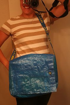 upcycled ikea bag