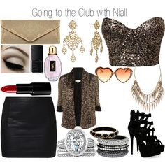 Going to the Club with Niall - Polyvore