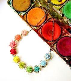 Little Color Wheel Necklace