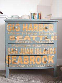 House of Turquoise: Fish Tales - Seabrook, Washington