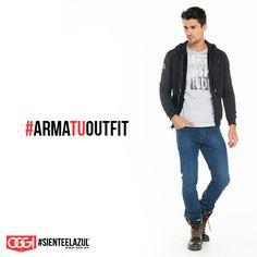 Ni frío, ni calor ;) Prueba con una sudadera y llénate de estilo. #OggiJeans #Mexico #MyStyle #Moda #SienteElAzul #StreetStyle #DailyOutfit #OOTD #Denim #Jeans #Mezclilla #ArmaTuOutfit