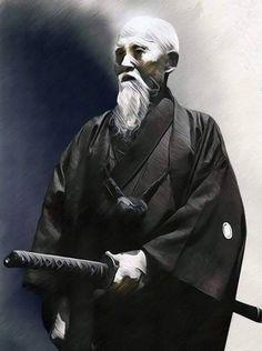 """theblindninja: """" Ōsensei Morihei Ueshiba """""""