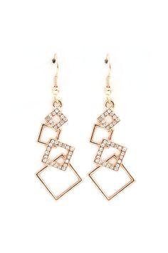 Rhea Earrings in Gold
