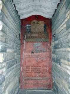 Strawberry Mansion Church Door, North Philly.