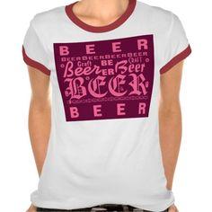 Craft Beer, Pink #craftbeer #beer http://www.zazzle.com/beerbrew?rf=238806092629186307