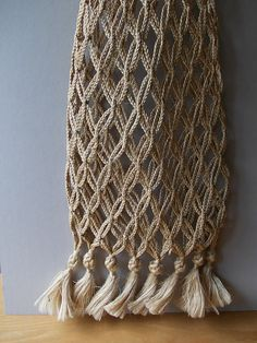 Vintage TOTE BAG / Made in Morocco / Macrame Bag / by EUvintage, $44.00