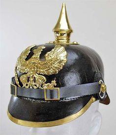089b5d32eaf21 Pickelhaube (Spiked Helmet) from Hessen Antique Vintage Helmet, Military  Weapons, Military Uniforms