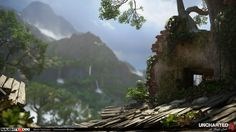 nathan drake, gamedev, game development, naughty dog, uncharter, uncharted 4, playstation 4, ps4, nathan drake, game industry, environment art, environments, games