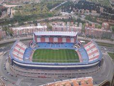 Club Atlético de Madrid  !Vicente Calderon Stadium , Madrid, Spain