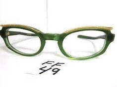 Grecian Beauty Vintage green eyeglasses - GOT 'EM!
