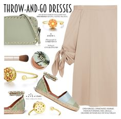 """""""Easy Peasy: Throw-and-Go Dresses"""" by totwoo ❤ liked on Polyvore featuring TIBI, Urban Decay, Valentino and By Terry"""
