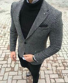 mens suits at primark Blazer Outfits Men, Mens Fashion Blazer, Suit Fashion, Casual Outfits, Best Mens Sweaters, Men Sweater, Stylish Men, Men Casual, Pantalon Costume