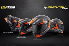Scorpion has announced the release of the EXO-AT950, a versatile modular Adventure Touring helmet with features and quality you would expect to pay three times more for. The EXO-AT950 can be used as a full face ADV helmet with external peak visor attached, or the peak visor can be removed and you have an aerodynamic …