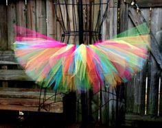 Passionsfrucht Flower Fairy Tutu von McClureHandmade auf Etsy