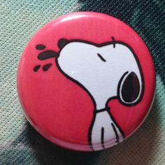 "Button Badge Peanut ""Snoopy"""