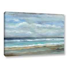 ArtWall Silvia Vassileva's Seashore, Gallery Wrapped Canvas | Overstock.com Shopping - The Best Deals on Canvas