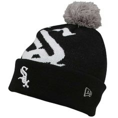 Chi White Sox Merchandise : New Era Chicago White Sox Woven Biggie Knit Cap - Black by New Era. $19.97. Embroidered and woven graphics. Officially licensed. Made of 100% acrylic. Manufactured by New Era. Authentic team colors. Stay warm while supporting your team in this cuffed Knit Cap from New Era. This soft, comfortable hat features woven and embroidered graphics, New Era logo on the side, official team colors, and is made of 100% acrylic. Officially licensed by M...