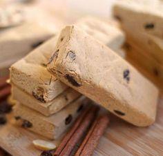 Protein Bar Recipe: Cinnamon Raisin Peanut Butter Fudge