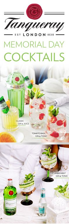 Whether you're kicking off the long weekend with Gin and Tonics, or sipping on Gin and Juice, be sure to keep your recipes smooth with our brightest spirit. Distilled with fresh citrus notes, Tanqueray elevates any outdoor celebration, whether it's rooftop party, Memorial Day brunch, or summer happy hour. No event is complete without cocktails - and with Tanqueray TEN and London Dry, you'll find the best gin to match your unique style and taste.