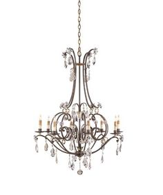 Currey and Company 9550 Mayfair 31 Inch Single Tier Chandelier