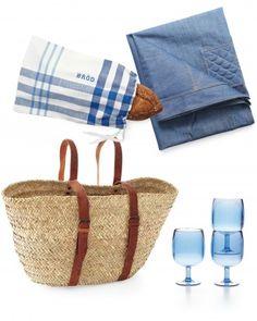 Chic, reusable picnic pieces