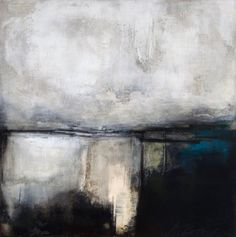 Solo in Mist II - Mixed Media on Gesso Panel - He is moving towards a much more abstract landscape (as I see it). Abstract Landscape Painting, Landscape Art, Landscape Paintings, Abstract Art, Abstract Paintings, Landscapes, Contemporary Landscape, Contemporary Paintings, Brown Art