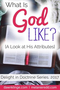 What is God like? Can we really describe Him? Can we truly understand Him? This post will share some of the many amazing attributes our God and help you to understand more of what our God is like. Why not drop by for a little delight in doctrine today?