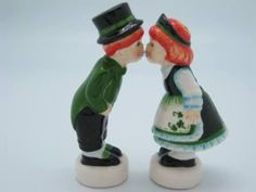 Unique Salt and Pepper Shakers | Irish Gift Unique Salt and Pepper Shakers : Dutch Gifts, German Gifts ...