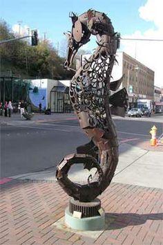 Sculpture in Port Angeles, WA Bellingham Washington, Washington State, Yasmine Galenorn, Port Townsend, Port Angeles, Evergreen State, Sky Full Of Stars, Olympic Peninsula, Outdoor Sculpture