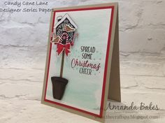 The Craft Spa - Stampin' Up! UK independent demonstrator : Tweaking the Candy…
