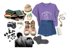 berry picking by stelthomas on Polyvore featuring polyvore, Falke, Converse, R.J. Graziano, CB2, American Eagle Outfitters, fashion, style and clothing