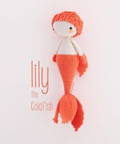 Lily ❤️ the cutest goldfish .. . Lily ❤️ en sevimli japon balığı.. . . . pattern: @bebeklikedi (coming soon/ yolda) yarn: #fibranaturacottonwood from @elit_iplikcilik . . . #bebeklikedi#amigurumi #amigurumis #boneka #crochet #haken#häkeln #crochetaddict #crochetlove#amigurumiaddict #crochetersofinstagram#croché #madebyme #amigurumis #crochet #ganchillo#cute#etsypattern #etsy #pattern#etsyshop#crochetaddict#orange#fish #goldfish #doll #mermaids #handmade#ganchillocreativo #crochetpattern…