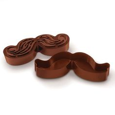 Munchstache Cookie Cutters by Fred and Friends
